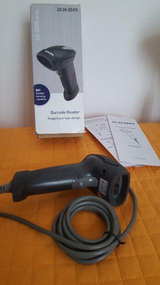 Pistola scaner de códigos de barra