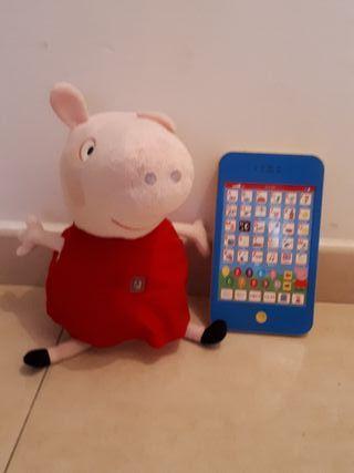 Aprende con Pepa Pig con su Tablet
