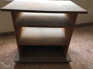 Biblioteca tarima mesa armario