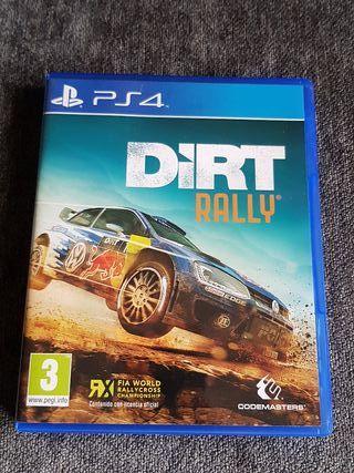 DIRT RALLY PS4 completo. como nuevo