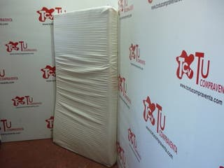 Colchon 105x180 cm latex blanco