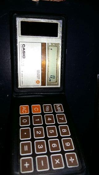 calculadora CASIO mini SL-8A vintage