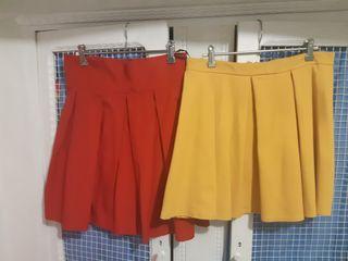 faldas tablas