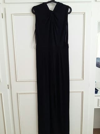 Betty Jackson. black jumpsuit. size 12.