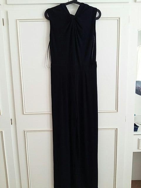 Betty Jackson. black jumpsuit. size 12.