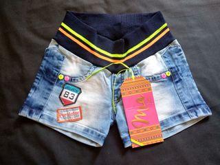 Pantalón Corto Vaquero PushUp Talla S/36/8