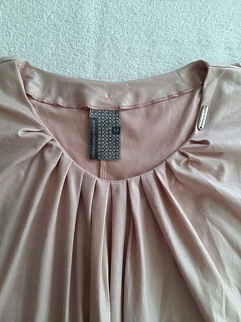 Asymmetric dress.