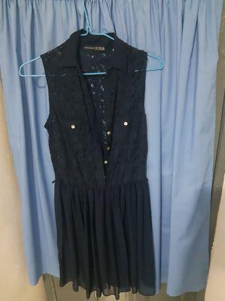 vestido semi/camisero