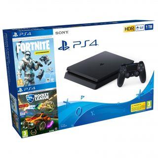 Playstation 4 SLIM 1TB NUEVA + JUEGOS PS4 OFERTA