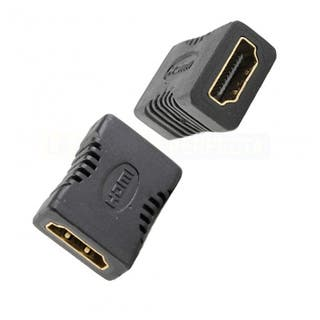 Adaptador, empalme, HDMI H-H, nuevo sin uso.