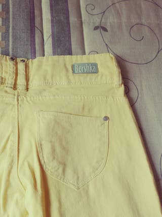pantalon largp y blusita desigual