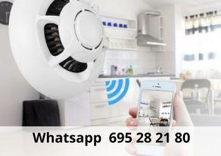 Videovigilancia WIFI detector dehumo mqz