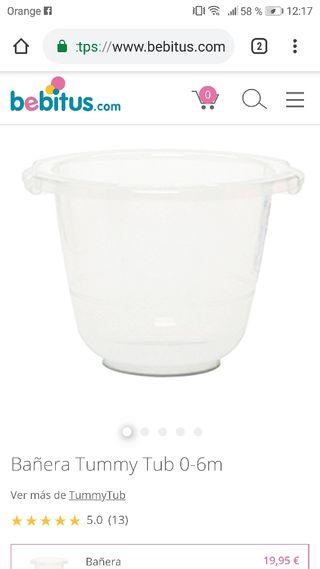 tummy tub bañera de bebe