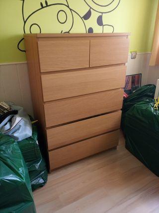 Cómoda cajonera Ikea
