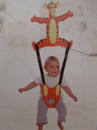 Tigger Columpio saltarín de bebé para puerta