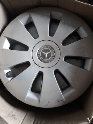 5 Tapacubos Mercedes 16 pulgadas