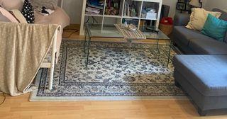 Una alfombra grande