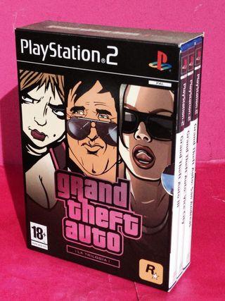 PS2 GRAND THEFT AUTO TRILOGIA