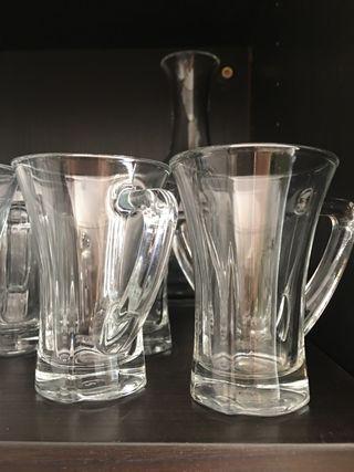 Vasos café Cristal