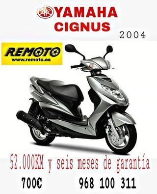 YAMAHA CIGNUS 2004 125CC