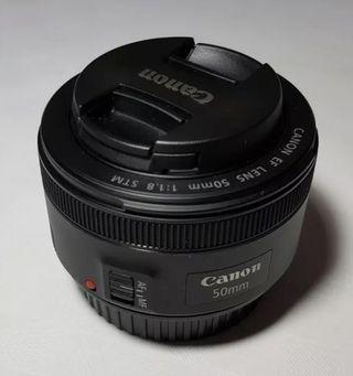 Canon Objetivo EF 50 mm, F/1.8 STM