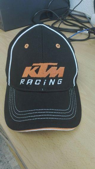 gorra de KTM
