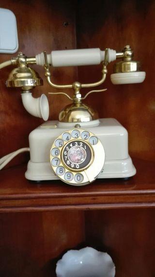 TELÉFONO ANTIGUO ESTILO,FUNCIONANDO