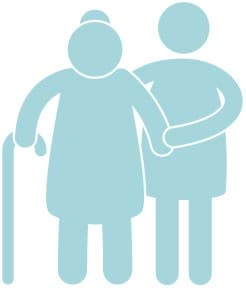 cuidadora persona mayores