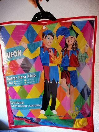 Disfraz Bufón