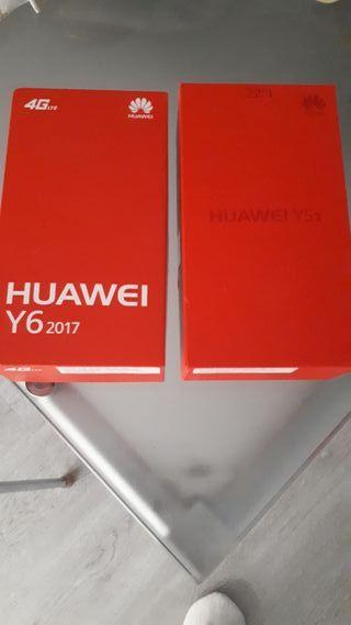 Moviles HUAWEI Y5 II y Y6 2017