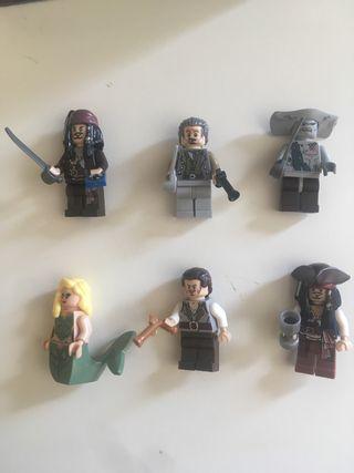 Piratas del Caribe figuras
