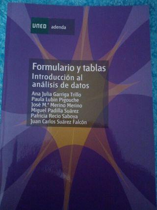 formulario y tablas introducción al análisis uned
