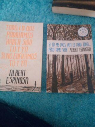 Pack 2 libros de Albert Espinosa