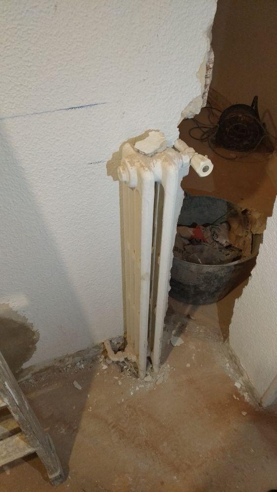 radiadores agua hierro fundido