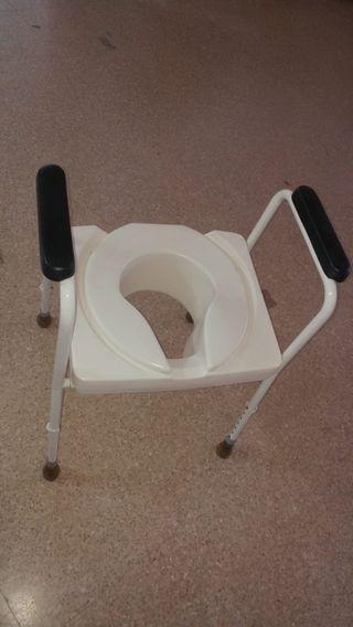 Elevador WC con patas