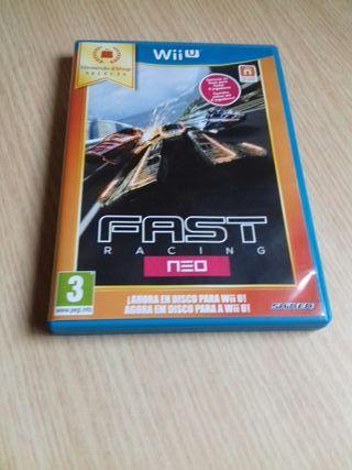 "Juego Wii U ""Fast Racing NEO"""