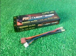 se venden baterías 8000mah 7,4v 100c