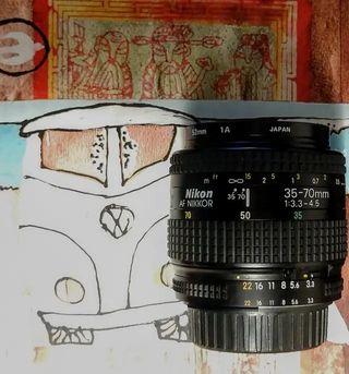 Objetivo Nikon 35-70mm japonés!