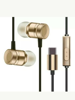Auriculares tipo C