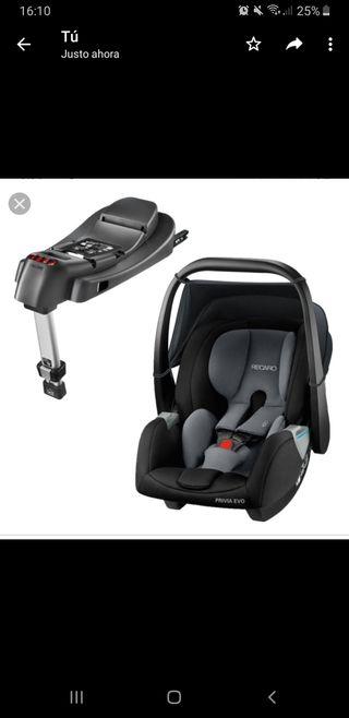 Recaro silla coche +isofix