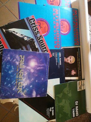 Lote de discos de vinilo