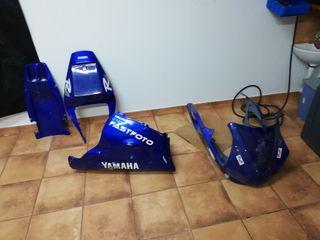 carenado tapas yamaha r1 99 01