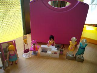 maletín Playmobil moda