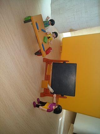 maletín de Playmobil colegio