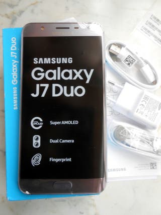 Samsung galaxy J7 Duo 2018 con 32/3gb