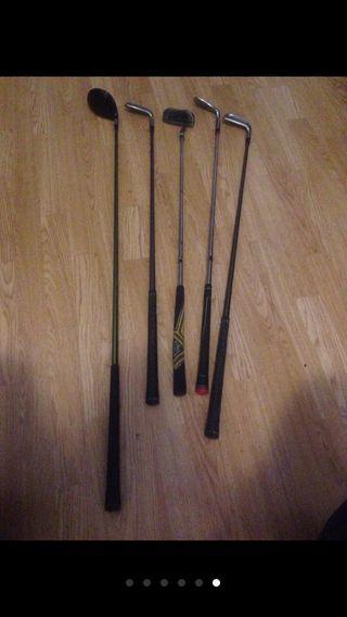 5 palos de golf