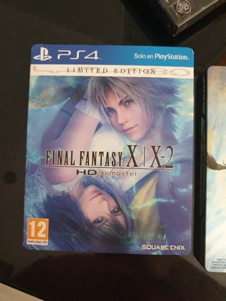 final fantasy x / x-2 remastered ps4