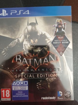 batmar arkam night ps4