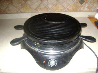 Raclette con parrilla