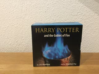 Harry Potter and the Goblet of Fire. Audio CDs.